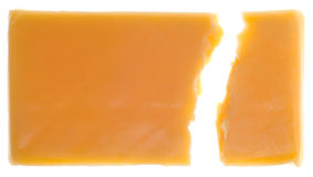 Chunk of Cheddar Cheese Royalty Free Stock Images