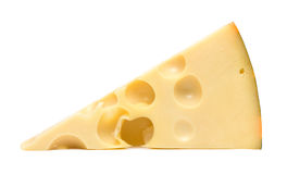Chunk of cheese Royalty Free Stock Images