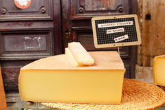 Chunk of cheese Royalty Free Stock Image