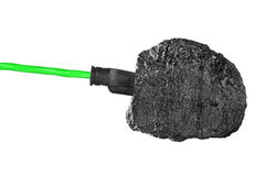 Chunk of coal Stock Images
