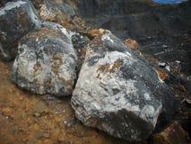 Chunk of coal. Closeup, geology, mine royalty free stock photo