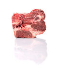 Chunk Of Cut Frozen Beef Meat I Royalty Free Stock Image