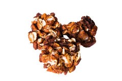 Chunk of fresh Tamarind a white background Royalty Free Stock Photos