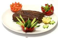 Chunk of roast meat Royalty Free Stock Photo