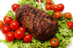 Chunk of roast meat Royalty Free Stock Images