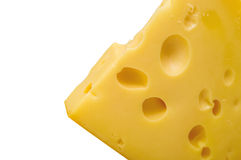 Chunk of tasty cheese Royalty Free Stock Photography
