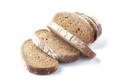 Chunks of the cut bread Stock Photo