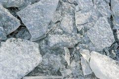 Chunks of ice closeup. Background texture Stock Photo