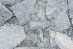 Chunks of ice closeup. Background texture Royalty Free Stock Images