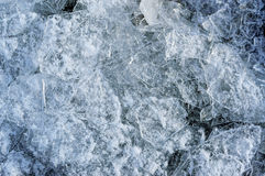 Chunks of ice closeup. Background texture Royalty Free Stock Image