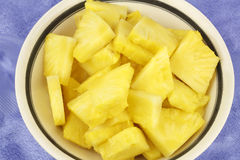 Chunks of Pineapple Royalty Free Stock Images