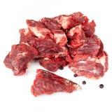 Chunks Of Raw Beef Stock Photos