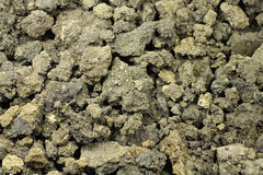 Chunks of raw land Stock Image