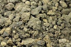 Chunks of raw land Stock Image
