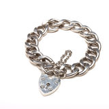Chunky Charm bracelet Royalty Free Stock Photography