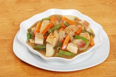 Chunky chicken stew Royalty Free Stock Images