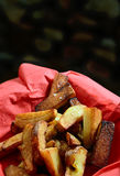 Chunky Chips Royalty Free Stock Photography