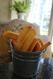 Chunky French Fries Royaltyfria Bilder