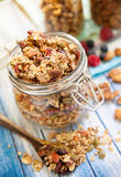Chunky Granola Royalty Free Stock Photography
