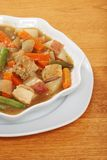 Chunky homemade chicken stew Stock Photos