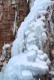 Chunky Ice Cascade stock photo
