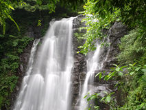 Chunu (Virgin) Waterfalls Royalty Free Stock Image
