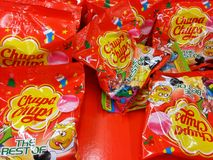 Chupa Chups Royalty-vrije Stock Foto's