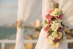 Chuppah do casamento judaico Fotografia de Stock Royalty Free