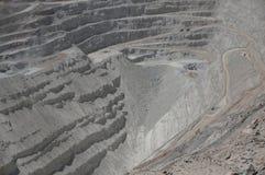 Chuquicamata, Atacama, Chile Lizenzfreie Stockbilder