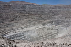 Chuquicamata, Atacama, Chile Stockbild