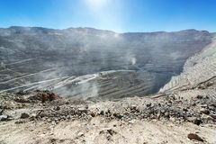Chuquicamata Mine View Stock Photo