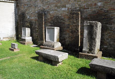 Churc (Basilica) of Sant'Eufemia (Grado) Royalty Free Stock Image