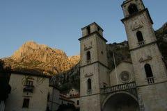 Churc di Cattaro, Montenegro Immagini Stock