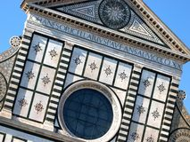 Churc S.Maria Novella - Florence Stock Photo