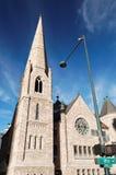 Churchâ metodista unido trinidad en Denver Imagenes de archivo