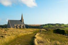 Church in Étretat, France Royalty Free Stock Photography
