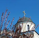 Church 02. Christian orthodox church in Petrovaradin Serbia Europe Royalty Free Stock Image