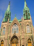 Church 03. Picture of a Montreal Church at the corner of Beaubien and St-Denis Royalty Free Stock Photography