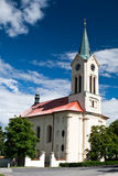 Church. Historic building in Mnisek pod Brdy Royalty Free Stock Photo