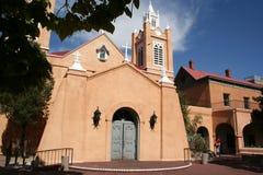 Church. San Felipe De Neri Church Albuquerque New Mexico Royalty Free Stock Photography