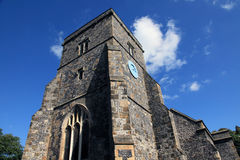 Church. Medieval church in South England Stock Images