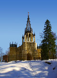 Church. The Peter and Paul church in Shuvalovsky park, in Pargolovo. St.-Petersburg.Russia Royalty Free Stock Image