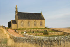Church. Traditional Scottish church in East Neuk of Fife, Scotland Stock Images