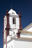 Church. White church in te South of Portugal royalty free stock images
