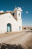 Church. Of Peine, a little town in the Salar de Atacama (Atacama Salt Lake), Atacama desert, Chile, South America Royalty Free Stock Image