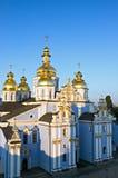 Church. Saint Michael's Golden-Domed Cathedral in Kiev Ukraine Stock Photo