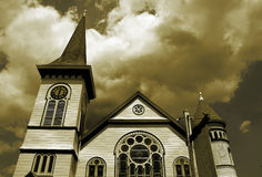 Church. Photo of a Methodist Church Royalty Free Stock Photography