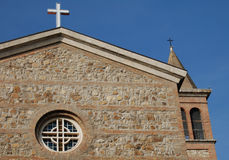 Church. Detail of church in Italy Stock Image