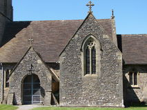 Church. In England with clear sky Royalty Free Stock Photos