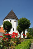 Church. Danish round church on the island of Bornholm Royalty Free Stock Photos